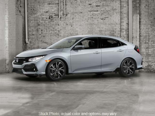 New 2019  Honda Civic Hatchback 4d Sport CVT at Carmack Car Capitol near Danville, IL