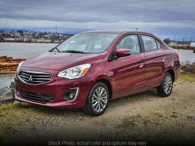 New 2019  Mitsubishi Mirage G4 4d Sedan ES CVT at R & R Sales, Inc. near Chico, CA