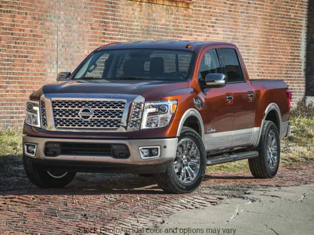 Used 2018  Nissan Titan 2WD Crew Cab SL at The Gilstrap Family Dealerships near Easley, SC