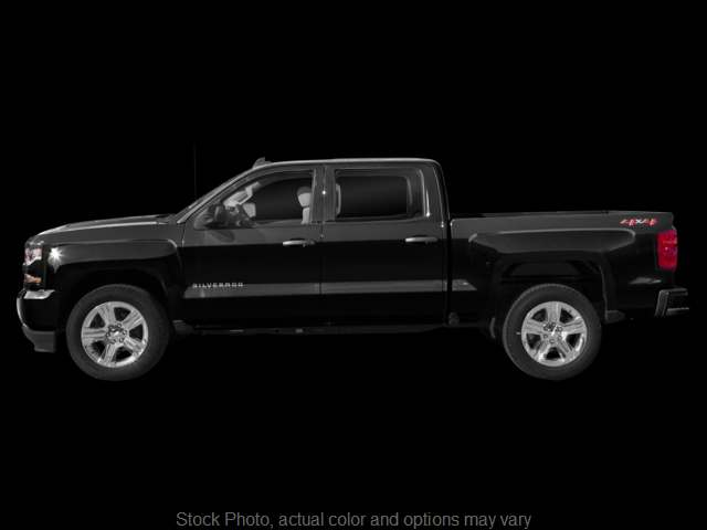 Used 2018  Chevrolet Silverado 1500 4WD Crew Cab Custom at The Gilstrap Family Dealerships near Easley, SC