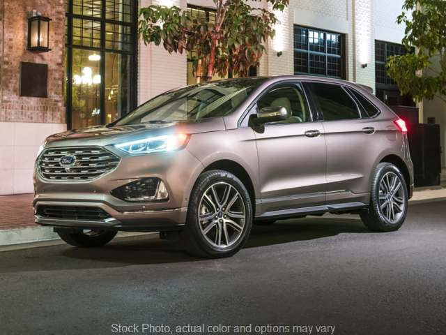 New 2019  Ford Edge 4d SUV AWD Titanium at Get Approved Quad Cities near East Moline, IL