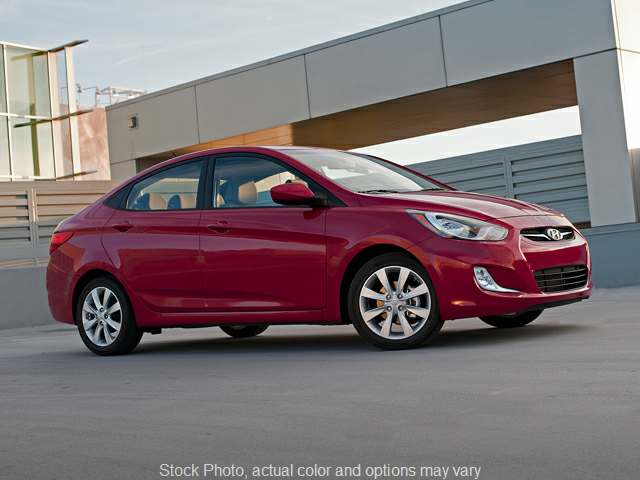 Used 2012  Hyundai Accent 4d Sedan GLS 6spd at Action Auto Group near Oxford, MS