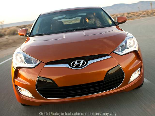 Used 2013  Hyundai Veloster 3d Coupe w/Black Seats Auto at Graham Auto Group near Mansfield, OH