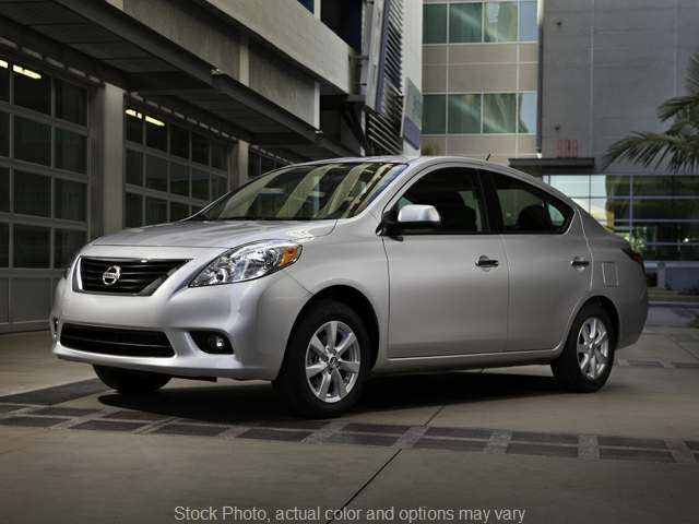 2012 Nissan Versa 4d Sedan S CVT at Oxendale Auto Center near Prescott Valley, AZ