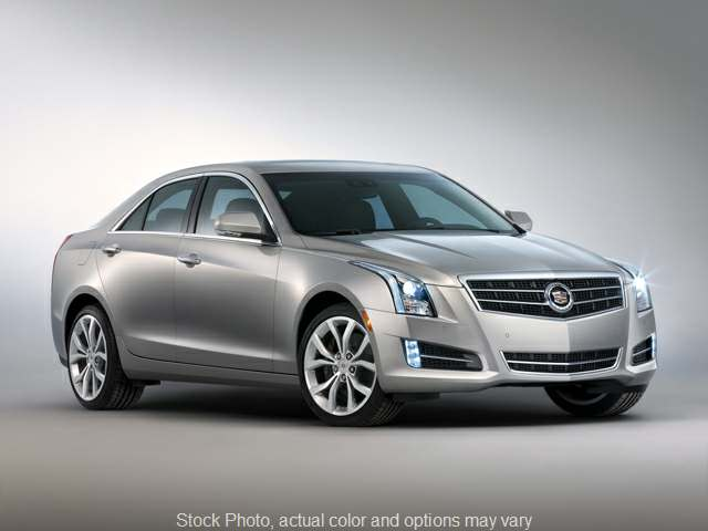 Used 2013 Cadillac ATS 4d Sedan 2.5L Luxury at Oxendale Auto Center near Prescott Valley, AZ