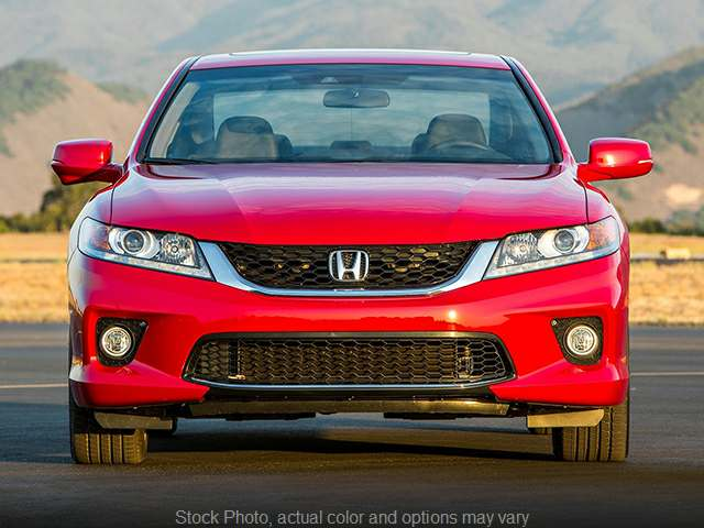 Used 2015  Honda Accord Coupe 2d EX-L Nav at The Gilstrap Family Dealerships near Easley, SC