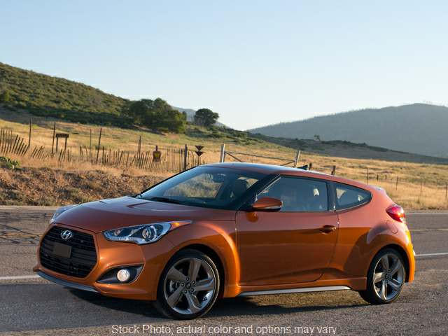 Used 2013 Hyundai Veloster 3d Coupe Turbo w/Black Seats Auto at Greer Mistubishi near Greer, SC