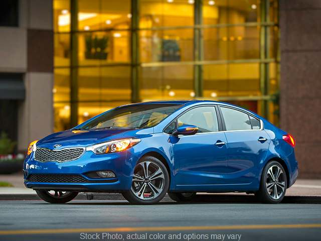 2015 Kia Forte 4d Sedan LX 6spd at VA Cars of Tri-Cities near Hopewell, VA