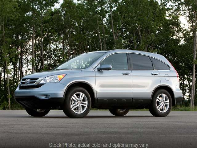 Used 2011 Honda CR-V 4d SUV 4WD EX-L at Ridenour Auto Group near New Lexington, OH