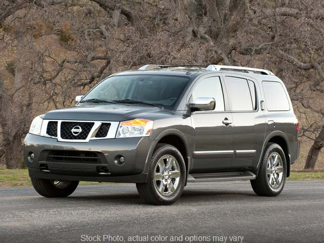 2011 Nissan Armada 4d SUV 4WD SL at Graham Auto Group near Mansfield, OH