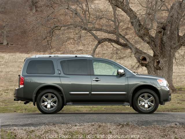 Used 2011  Nissan Armada 4d SUV RWD Platinum at The Gilstrap Family Dealerships near Easley, SC