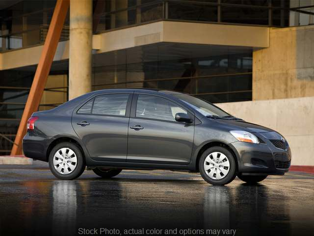 2012 Toyota Yaris 4d Sedan at Graham Auto Group near Mansfield, OH