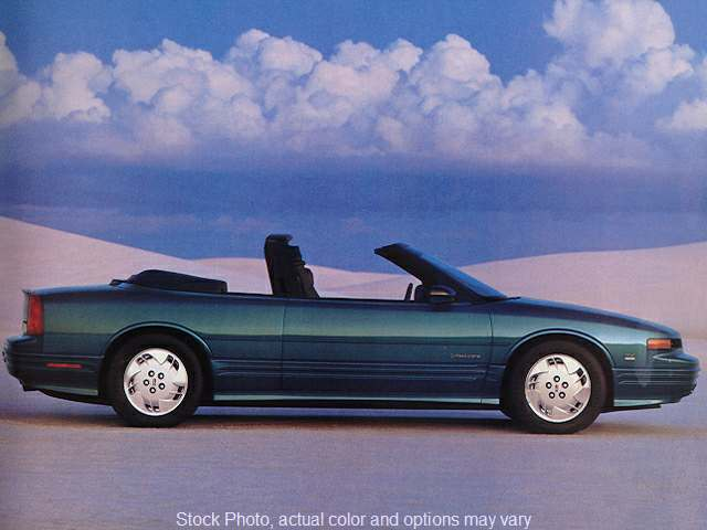 Used 1993  Oldsmobile Cutlass Supreme 2d Convertible at Paradise Motors near Lansing, MI
