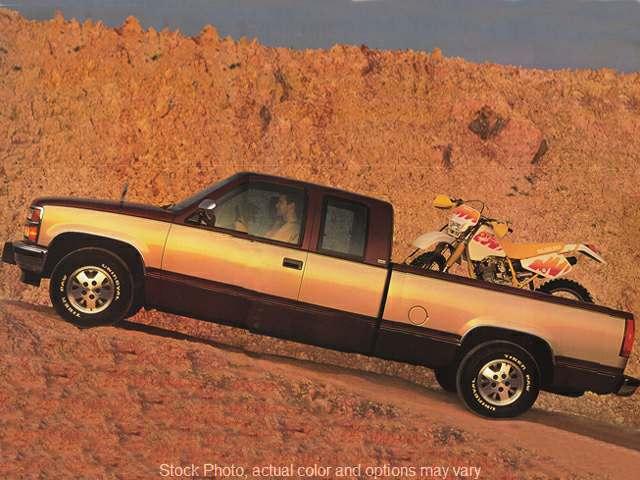 1995 Chevrolet C1500 Pickup 2wd Ext Cab Silverado Edd