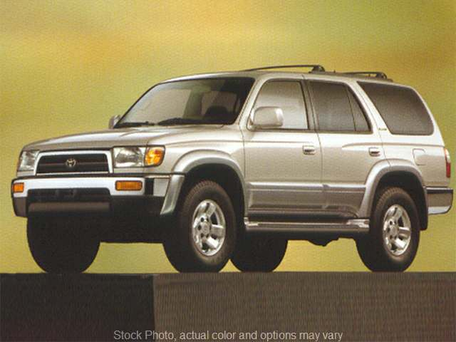 1998 Toyota 4Runner 4d SUV RWD Limited at Edd Kirby's Adventure near Dalton, GA