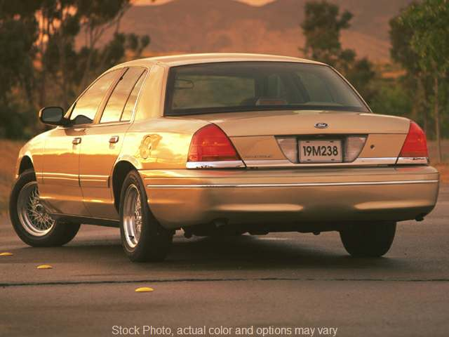 Used 1999  Ford Crown Victoria 4d Sedan LX at City Wide Auto Credit near Toledo, OH