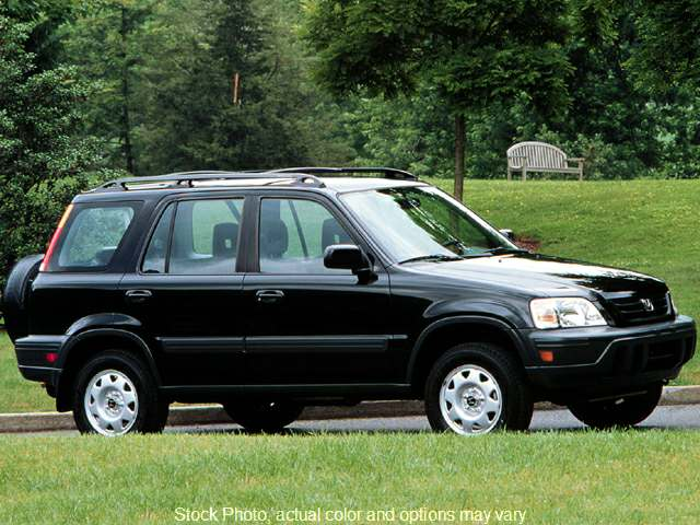 Used 1999  Honda CR-V 4d SUV 4WD LX at Bobb Suzuki near Columbus, OH
