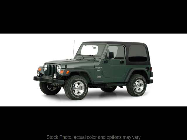 Used 2000  Jeep Wrangler 2d Convertible Sport at Carriker Auto Outlet near Knoxville, IA