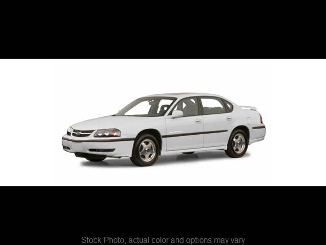 Used 2001  Chevrolet Impala 4d Sedan LS at Edd Kirby's Adventure Mitsubishi near Chattanooga, TN