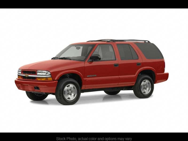 2002 Chevrolet Blazer 4d SUV RWD LS