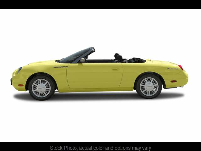 Used 2002  Ford Thunderbird 2d Convertible at The Gilstrap Family Dealerships near Easley, SC
