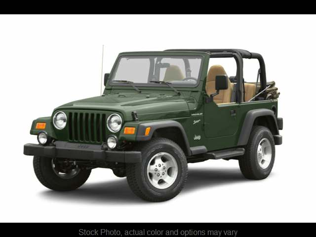 Used 2002  Jeep Wrangler 2d Convertible Sport at Frank Leta Automotive Outlet near Bridgeton, MO