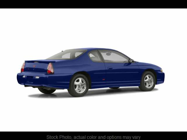 Used 2003  Chevrolet Monte Carlo 2d Coupe SS at City Wide Auto Credit near Toledo, OH