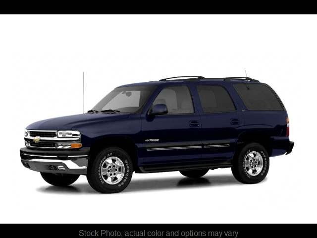 Used 2003  Chevrolet Tahoe 4d SUV 4WD LS at Solutions Auto Group near Chickasha, OK