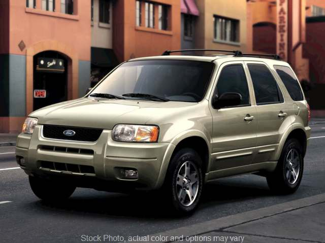 Used 2003 Ford Escape 4d SUV FWD XLT at MLC Motor Cars near Commerce Charter Twp, MI