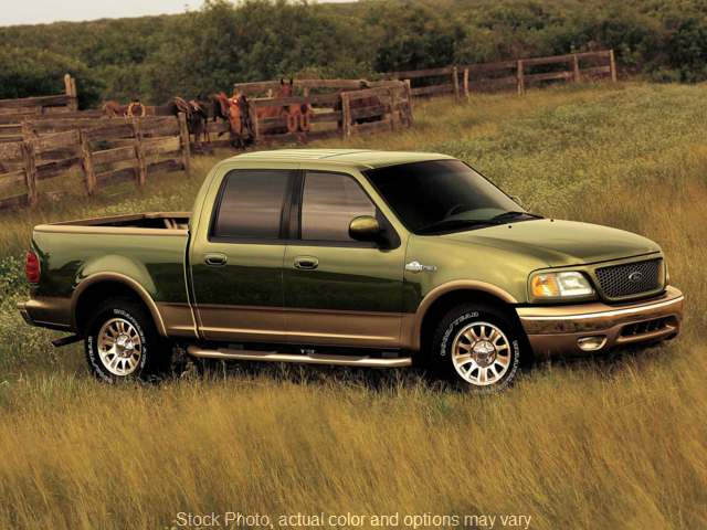 Used 2003 Ford F150 2WD SuperCrew XLT at Midgette Auto Sales, Inc near Harbinger, NC