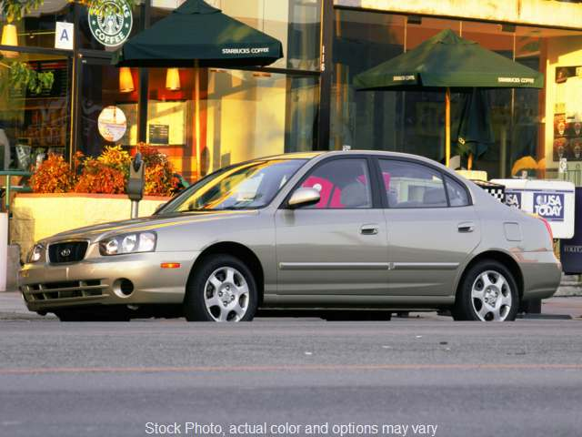 Used 2003  Hyundai Elantra 4d Sedan GLS at Credit Now Auto Inc near Huntsville, AL