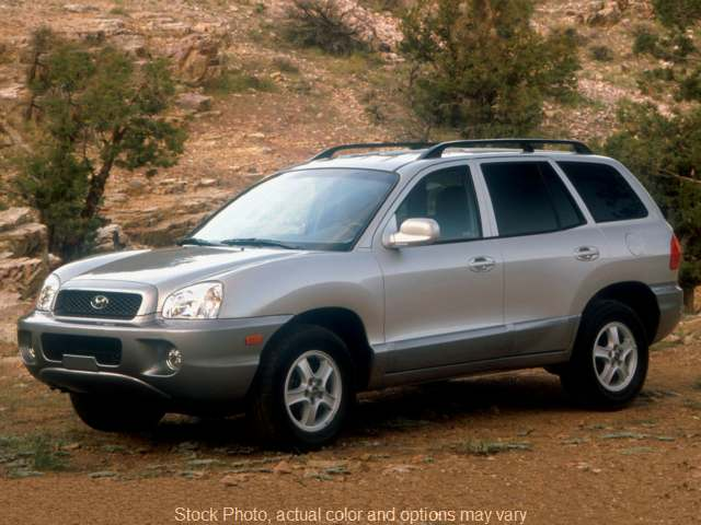 Used 2003  Hyundai Santa Fe 4d SUV AWD GLS 2.7L at City Wide Auto Credit near Oregon, OH
