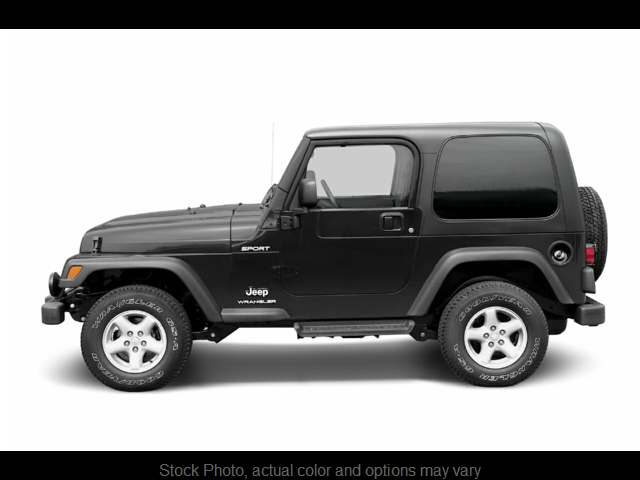 Used 2003  Jeep Wrangler 2d Convertible X at The Gilstrap Family Dealerships near Easley, SC