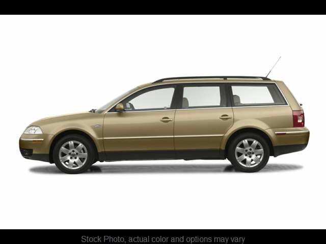 Used 2003  Volkswagen Passat 4d Wagon GLX 4motion at Tacoma Car Credit near Tacoma, WA