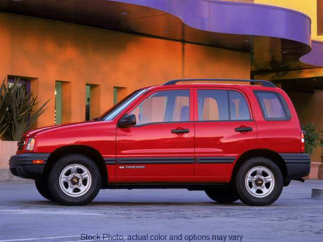 Used 2004  Chevrolet Tracker 4d SUV 4WD LT at Hallada Ford near Dodgeville, WI