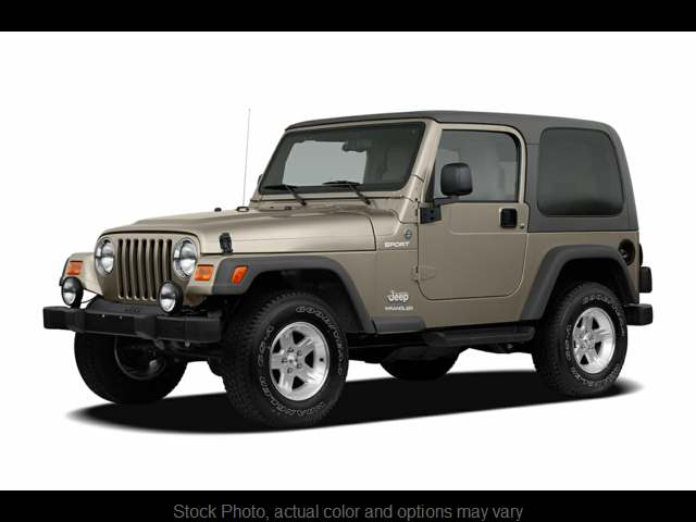Used 2005  Jeep Wrangler 2d Convertible Sport at The Gilstrap Family Dealerships near Easley, SC
