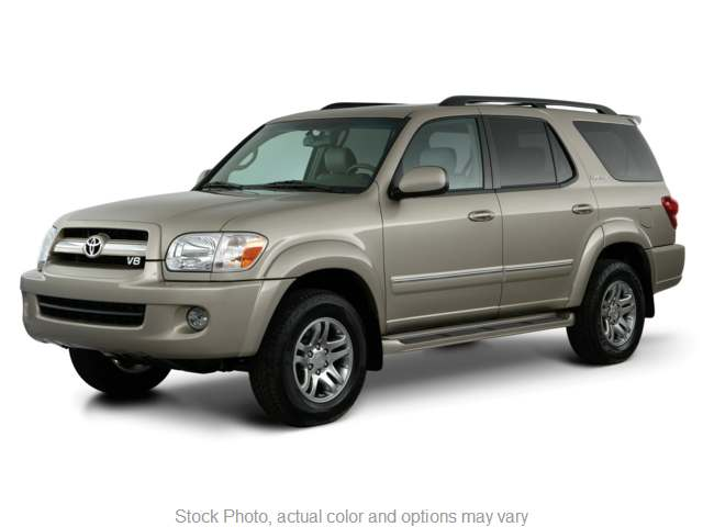2005 Toyota Sequoia 4d SUV RWD SR5 at Action Auto Group near Oxford, MS