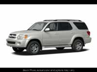 Used 2005 Toyota Sequoia 4d SUV 4WD SR5 at Greer Mistubishi near Greer, SC