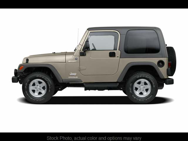 Used 2006  Jeep Wrangler 2d Convertible Sport at Bill Fitts Auto Sales near Little Rock, AR