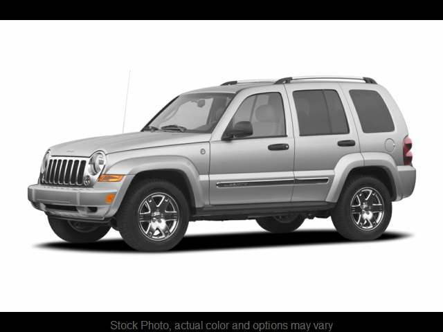 Used 2007  Jeep Liberty 4d SUV 4WD Limited at Graham Auto Group near Mansfield, OH