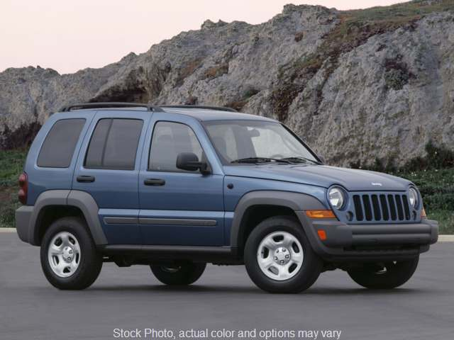 2007 Jeep Liberty 4d SUV 4WD Limited at Graham Auto Group near Mansfield, OH