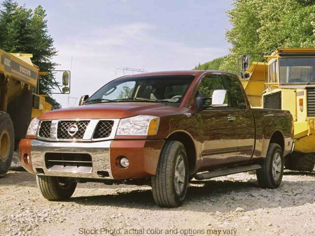 2007 Nissan Titan 4WD King Cab LE Flex Fuel at Graham Auto Group near Mansfield, OH