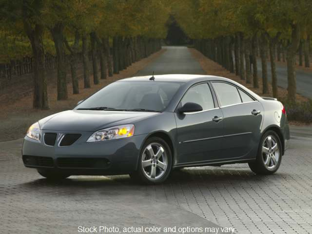 Used 2007  Pontiac G6 4d Sedan Value at Action Auto Group near Oxford, MS