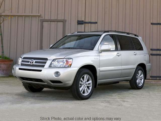 Used 2007  Toyota Highlander Hybrid 4d SUV AWD at Good Wheels near Ellwood City, PA