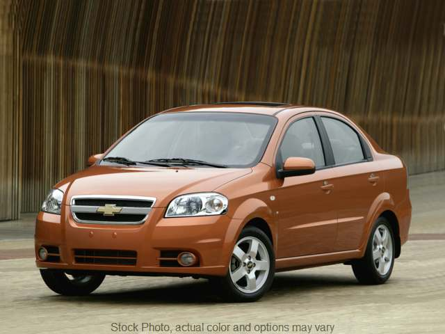 2011 Chevrolet Aveo 4d Sedan LS at Camacho Mitsubishi near Palmdale, CA