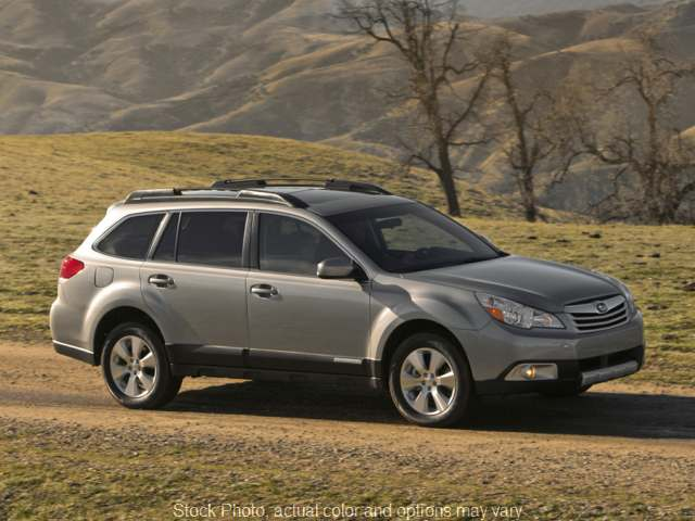 Used 2011  Subaru Outback 4d SUV i CVT at Bradley Auto Finance near Hudson, NH