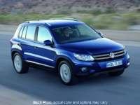 Used 2013  Volkswagen Tiguan 4d SUV S Sunroof 4Motion at Naples Auto Sales near Vernal, UT