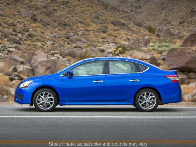 Used 2015  Nissan Sentra 4d Sedan SR at Nissan of Paris near Paris, TN