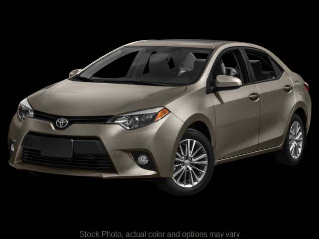 Used 2016  Toyota Corolla 4d Sedan LE at Graham Auto Group near Mansfield, OH