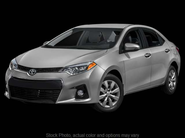 Used 2015  Toyota Corolla 4d Sedan S Plus CVT at Bobb Suzuki near Columbus, OH